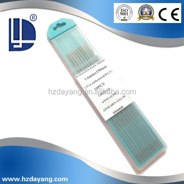 WT-30 Thorium Tungsten Electrodes with Good Capacity WT-30