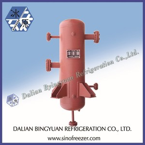 Ammonia Liquid Separator for ice making plant