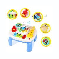 Musical Learning Table Baby Toys 6 to12 Months up-Early Education Music Activity Center Game Table Toddlers Toys for 1 2 3 Year