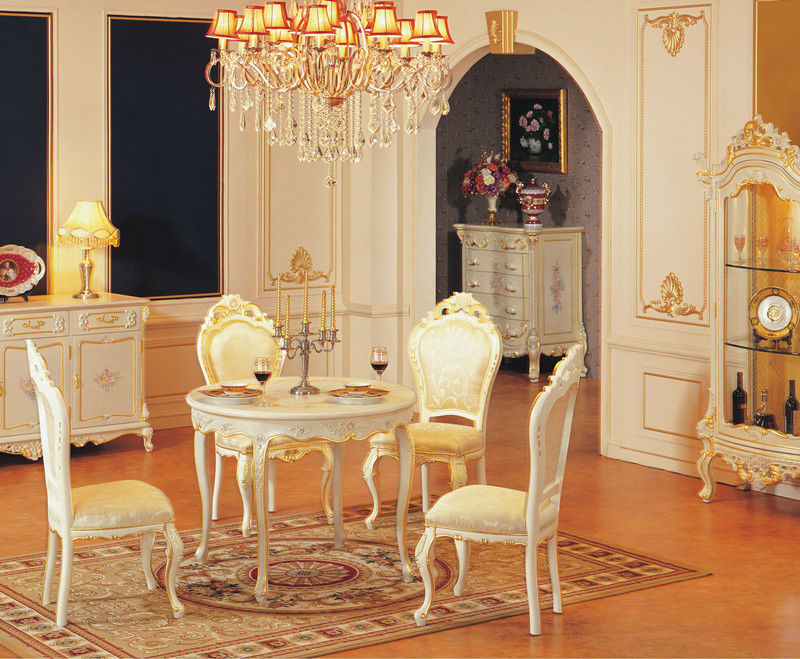 Antique White Dining Room Furniture Sets Luxury Furniture