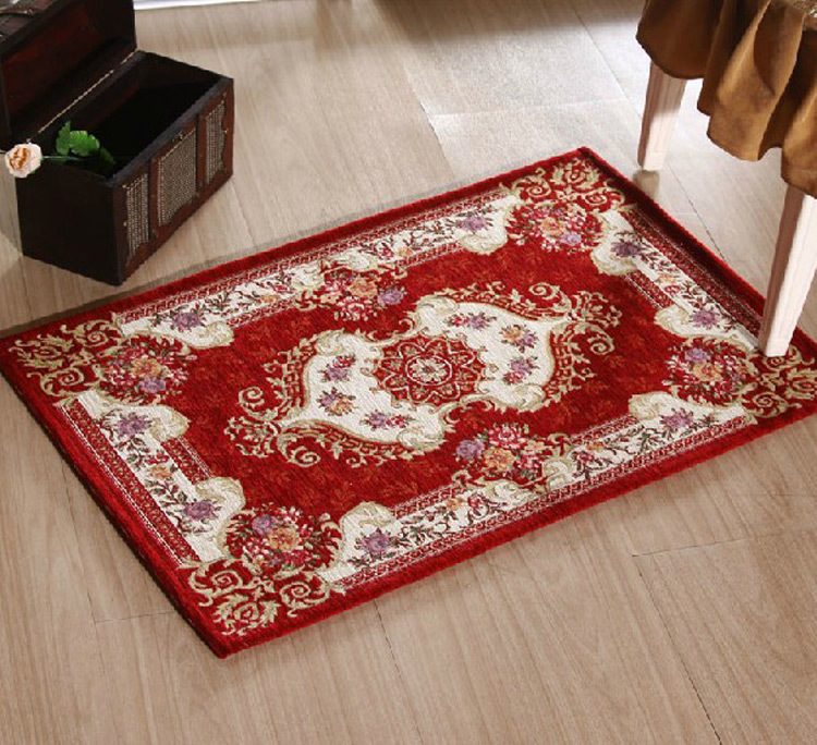 Decorative Area Rugs: Rugs And Carpets For Home Living Room Red Area Rug Flower