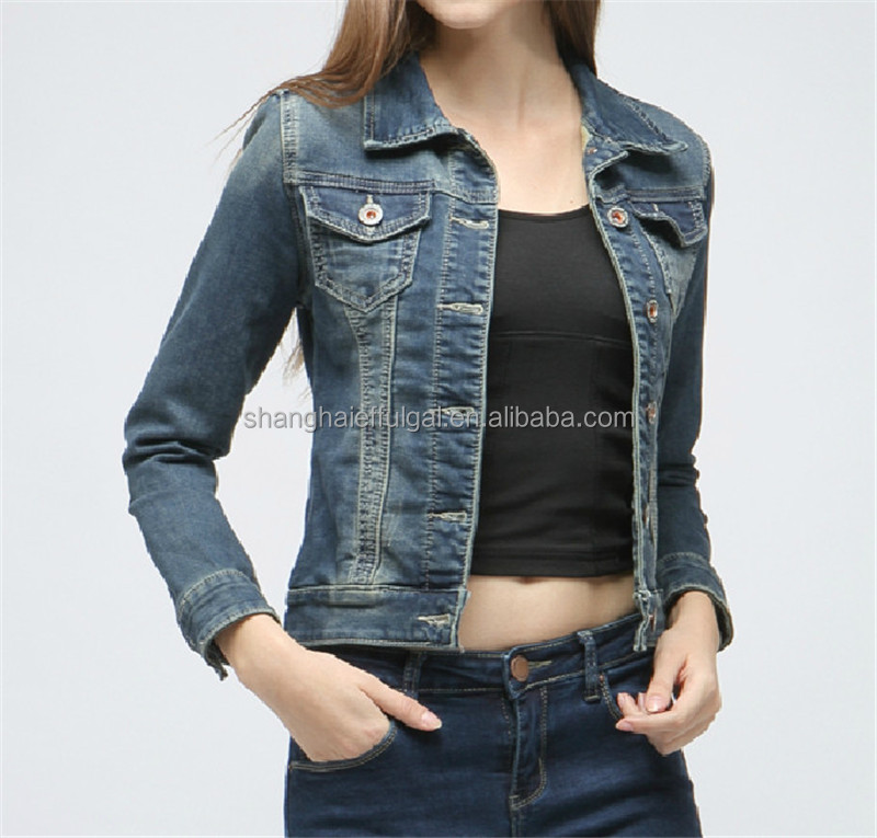 Denim Half Jacket