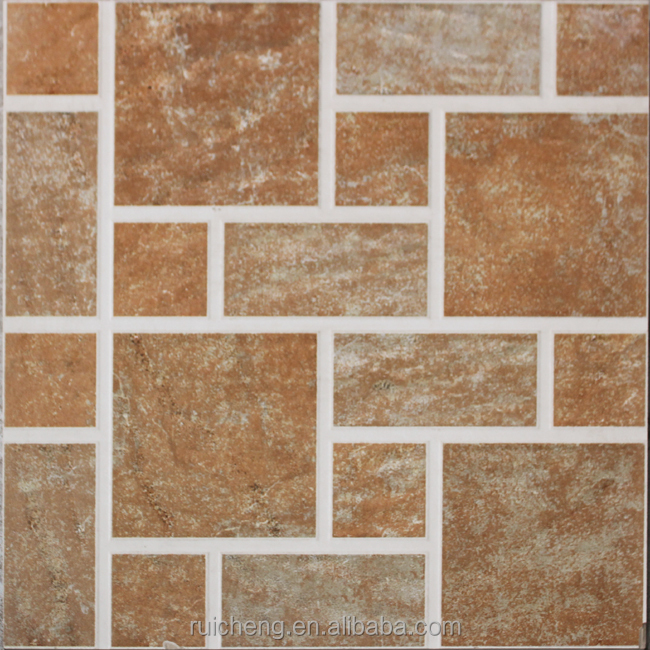 Non Slip Bathroom Glazed Rustic Ceramic Floor Tile