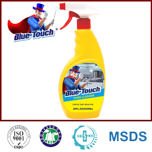 Blue-Touch degreasing easy off kitchen oven cleaner with trigger spray 20 FL.OZ(600ml)