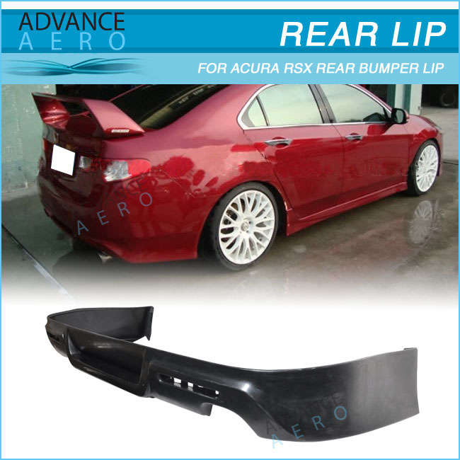 For Acura Rsx Coupe 2dr Mug Style Rear Bumper Lip Spoiler