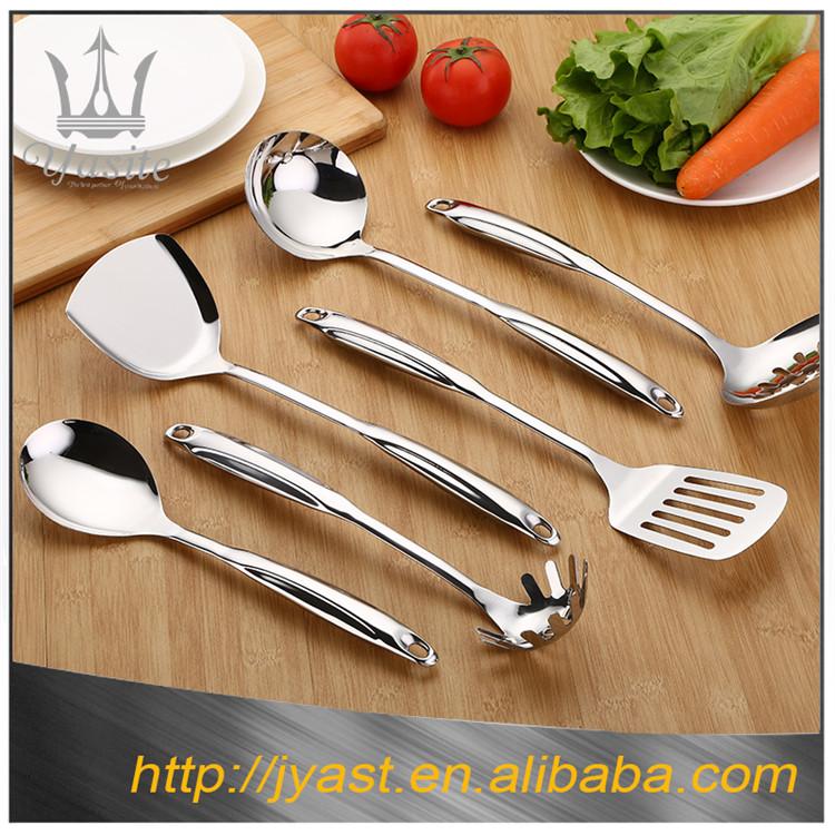 utensilios de cocina de estilo europeo al por mayor de acero