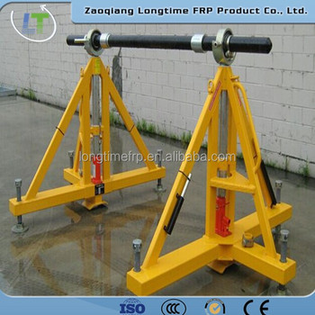 Cable Drum Stand Price,Wire Reel Stand,Heavy Hydraulic Adjustable ...
