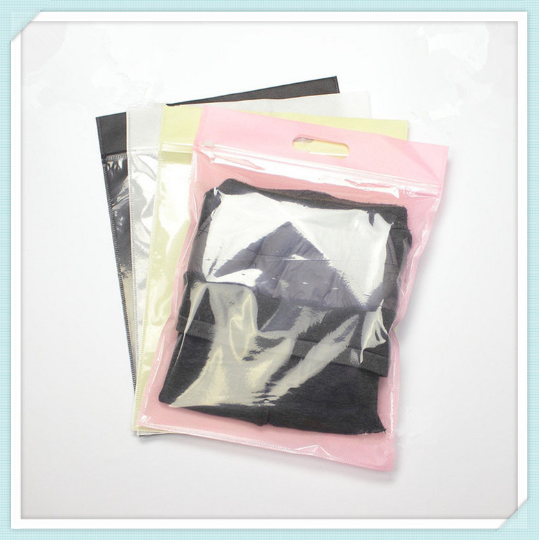 35*27CM Packaging <strong>Plastic</strong> and Non-woven Bag for clothes, t shirt DHL Free Shipping