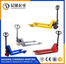 Hand Pallet Truck /hand pallet jack with CE and ISO Certificate Plastic Pallet Truck jacks