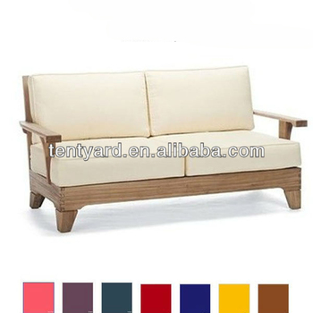Outdoor Indoor Double Wooden Sofa Seat Foam Cushions Buy