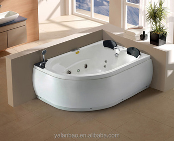 Beautiful Indoor Whirlpool Double Bathtub (G654)