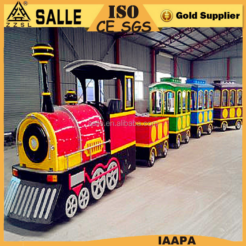 cheap shopping mall amusement rides Mini Train antique toy trains ride for kids