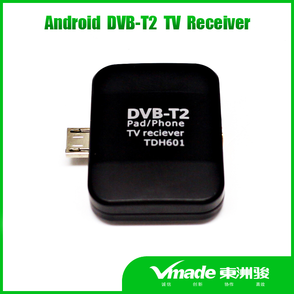 Vmade mobile FTA pad tv mini dvb t2 usb tv stick for android phone