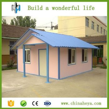 China Modern House Plans Low Cost Ready Made Prefab House For Sale