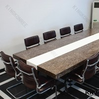long narrow conference 12 seat dining table