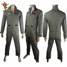 PGMC1749 Custom-Mad <span class=keywords><strong>Uniform</strong></span> Jumpsuit Cosplay Pilote <span class=keywords><strong>Mannen</strong></span> Kostuum