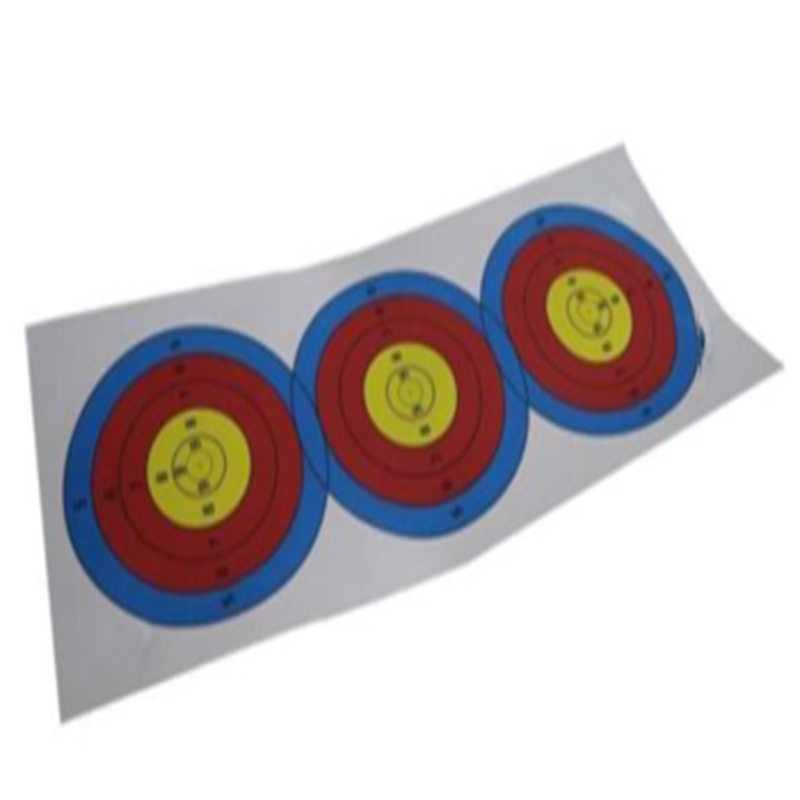 Archery Target Paper Face for Arrow Bow Shooting Hunting Practice custom vinyl stickers