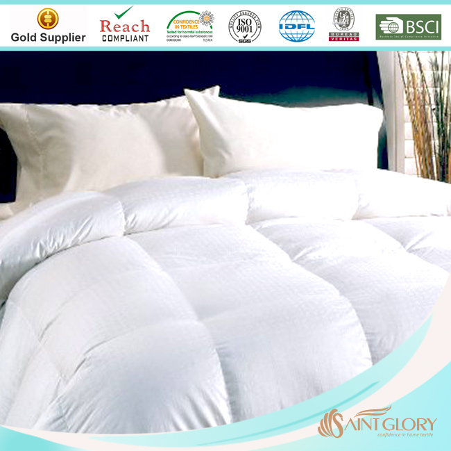 Saint Glory No. 1 Manufacturer Soft Like Down Microfiber Duvet with Swiss Dot fabric