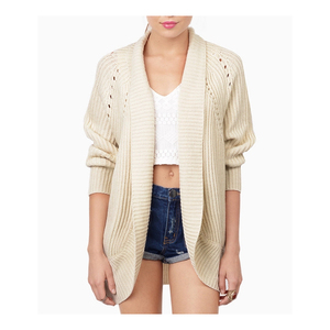 Latest manufacturer China womens cardigan sweater