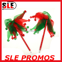 2016 New designs cheap christmas tree feather fluffy pen