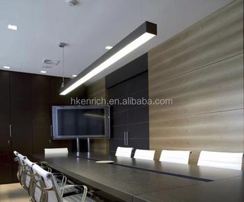 suspended linear lighting. Indoor Supermarket Suspended Linear Led Trunking Light Fixture Lighting