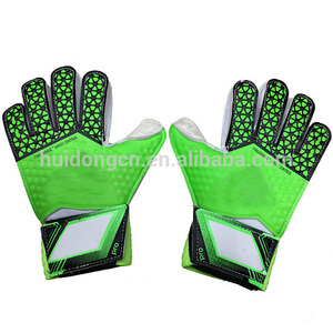 PVC Latex football goalkeeper gloves professional adult football thicken gloves finger guard soccer goal keeper gloves wholesale