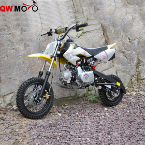 QWMOTO CE 110cc Lifan Engine dirt bike 90cc mini lifan off road Motorcycle for Hot sale
