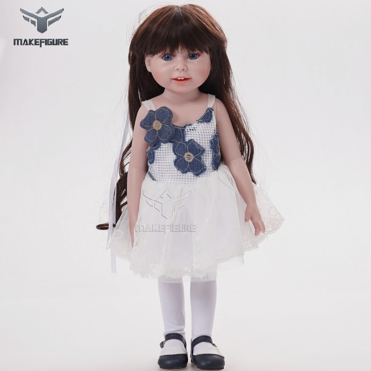 Dolls & Stuffed Toys Steady Plastic Long Wig Doll Head Accessories 3d Eyes Cake Plastic Pvc Doll Baking Mold Thicken Hairstyle Beautiful Long Hair Toy