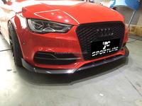 2014up A3 S3 Sedan 4door Carbon Fiber Front Bumper Lip,Auto Car ...