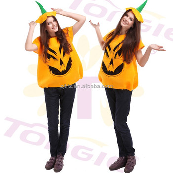 adult woman funny halloween pumpkin mascot costume for sale