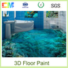 Cheap chemicals liquid 3d floors paint, 3d epoxy concrete floor coating price