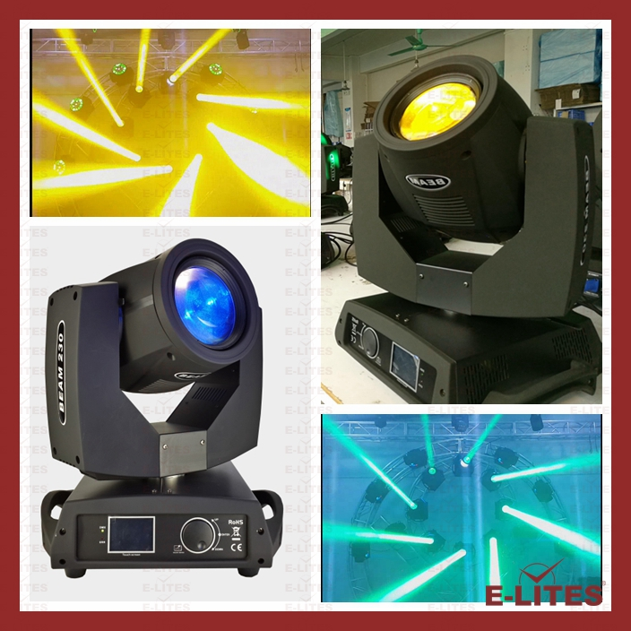 Half Moon Lamp 7r Beam 230w Colorful Godo Wheel Beam Moving Head Light -  Buy Factory Direct Beam Light,Moving Head Beam Light,Stage Beam Event Light