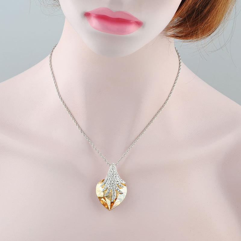 New Items Design Ebay Joias Muslim Wedding Heart Style Yellow ...