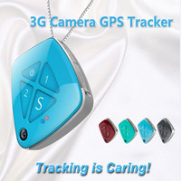 Excellent MIN GPS tracker 3G Network V42 GPS+WIFI+ LBS Real time tracking