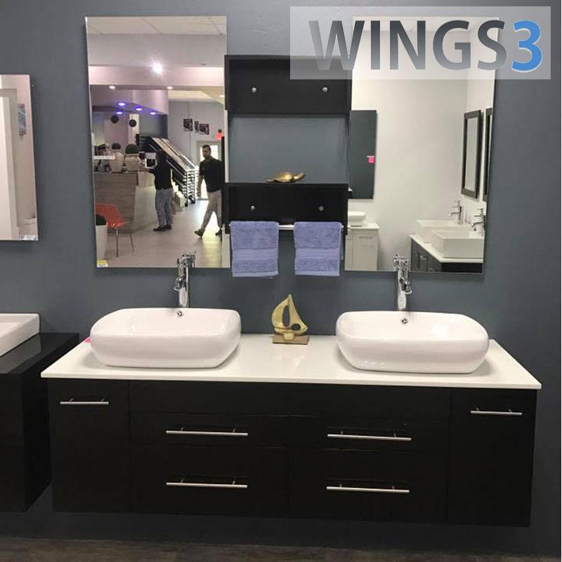 List Manufacturers Of Bathroom Vanity With Wash Basin