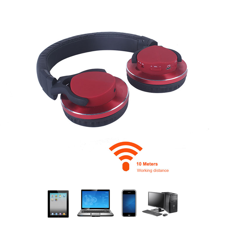 Small Noise Cancelling Over Ear Oem Bt Wireless Headphones