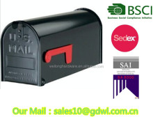 HIGH QUALITY USA METAL MAILBOXES & CAST IRON LETTER BOX