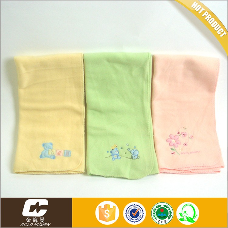 Baby swaddle patterns free coral fleece printed wholesale blanket