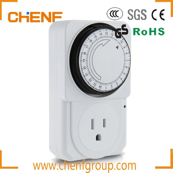 Hot Sell 24 Hours 120v Single Socket Electrical Outlet Automatic ...