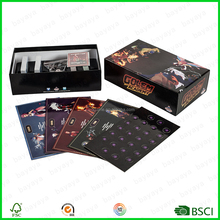 Customized Full colors card game Printing, high quality printing finish speak out type board game