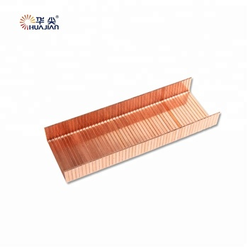 17ga 18mm length Copper Carton Staples Pins for Packing