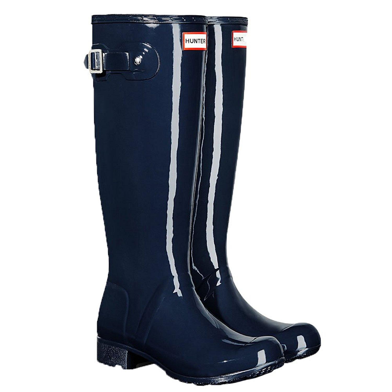 Hunter Womens Original Tour Gloss Packable Rain Boot