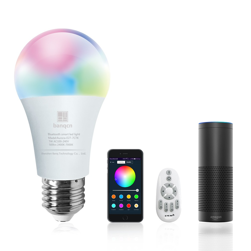 New Smart Wifi Led Light Bulb 9w Dimmable Multicolored Bulb Compatible With Alexa Google Assistant Smartthings Buy Alexa Light Bulb Wifi Light