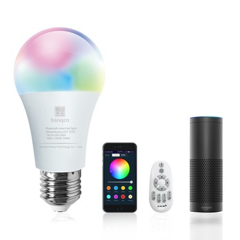 New Smart WIFI led light  bulb -9w dimmable & multicolored bulb-compatible with Alexa/google assistant/SmartThings