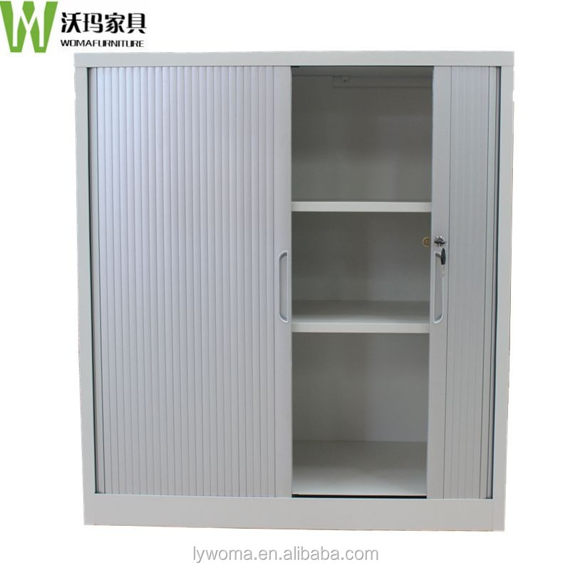 kitchen cabinet roller doors big lots china office storage used doors metal 5738