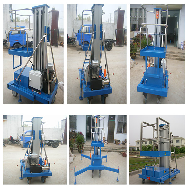 Hydraulic Vertical Lift : Nucleon m vertical lift platform hydraulic man