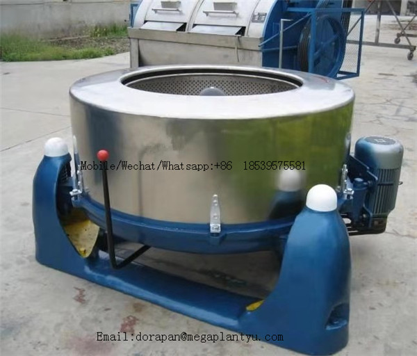 תעשייתי חשמלי 45kg סופג לחות ירקות/מסחרי 600mm רולר קוטר מזון צנטריפוגלי סופג לחות