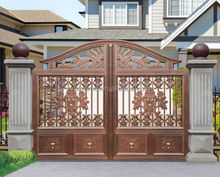 Decorative aluminum gates/aluminum livestock gates/design of main gate