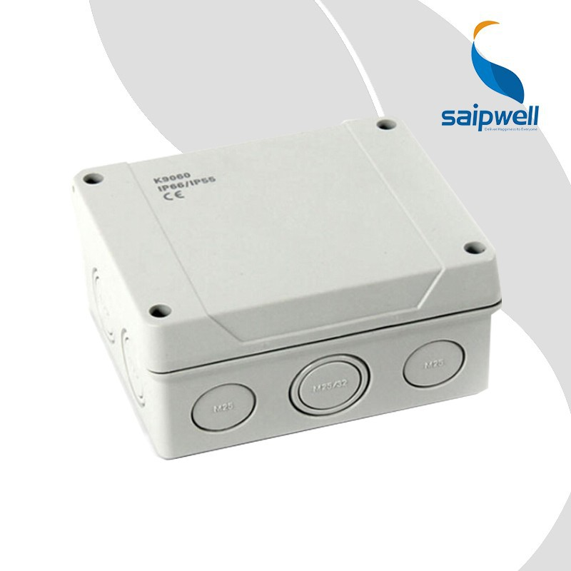SAIP/SAIPWELL Waterproof electrical plastic outdoor cable pv junction box