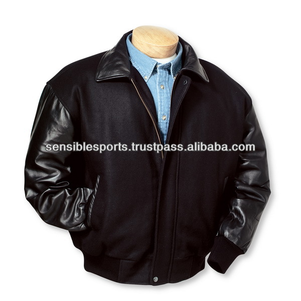 clothes of hot sales high quality baseball jacket ow